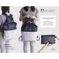【CB Japan】NORME DE BEAUTE 可折疊背包